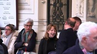 Prince Edward departs Criterion Theatre