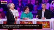 """Nagui revient sur la fois où Sophie Davant était """"bourrée"""" à l'antenne (Vidéoà"""