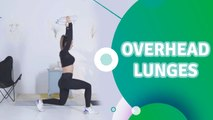 Overhead lunges - Fit People