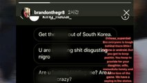 라건아 이어 브랜든 브라운도 '인종차별' SNS 메시지 공개 / YTN
