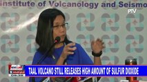 Taal Volcano still releases high amount of sulfur dioxide