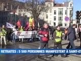 A la Une : Ils manifestent depuis 43 jours / Feurs la ville à l'unique candidat / Havs Voyage va créer 60 emplois saint-Etienne / DRK, le dj qui enflamme les dance-floor - Le JT - TL7, Télévision loire 7