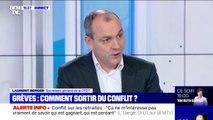 """Laurent Berger: """"La CFDT est pour un système universel des retraites si celui-ci permet de réduire les inégalités du système actuel"""""""