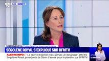 """Ségolène Royal: """"Ce qui est très violent c'est l'accumulation des attaques"""""""