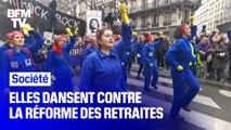 """""""À cause de Macron"""": elles parodient une chanson pour protester contre la réforme des retraites"""