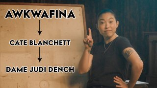 Awkwafina Plays Six Degrees of Separation | Surprise Showcase