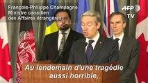 """Boeing abattu en Iran: """"le monde attend des réponses"""" (ministre canadien)"""