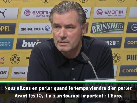 Allemagne - Hummels aux JO contre Mbappé ? Le directeur sportif de Dortmund temporise
