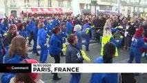 Fransa: Emeklilik reformu karşıtı protestolara katılım azaldı; sendikalar vazgeçmiyor