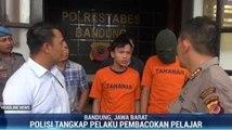 Polisi Tangkap Pembacok Pengendara Motor di Bandung