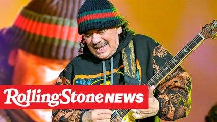 Carlos Santana Is Starting His Own Weed Strain | RS News 1/16/20
