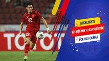 Highlights | U23 Việt Nam - U23 Triều Tiên | Kết thúc hành trình VCK U23 Châu Á 2020 | VFF Channel