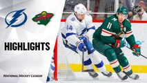 NHL Highlights | Lightning @ Wild 01/16/20