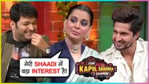 Kangana Ranaut, Jassie Gill Back To Back Comedy On The Sets Of Kapil Sharma Show