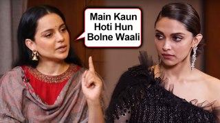 Kangana Ranaut STRONG REACTION On Deepika Padukone's JNU Visit