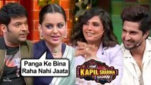 Kapil Sharma COMEDY With Kangana Ranaut, Jassie Gill, Richa Chadda | The Kapil Sharma Show
