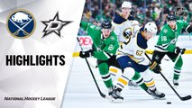 NHL Highlights | Sabres @ Stars 01/16/20