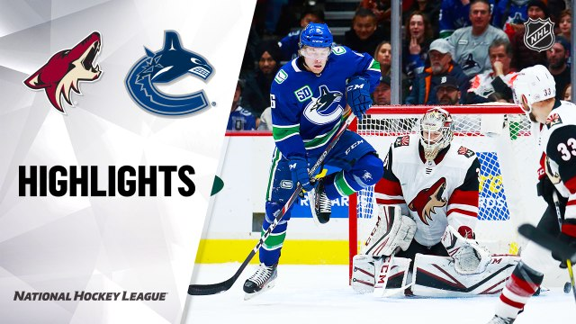 NHL Highlights | Coyotes @ Canucks 01/16/20