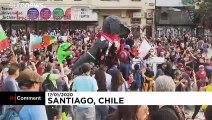 Şili'de hükümet karşıtı prostolar devam ediyor: Eylemlerde en az 29 kişi öldü