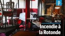 Le restaurant la Rotonde ravagé par un incendie