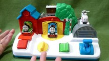 Thomas and Friends Musical Singing Pop Up Pals Toy with Percy, Toby and Harold