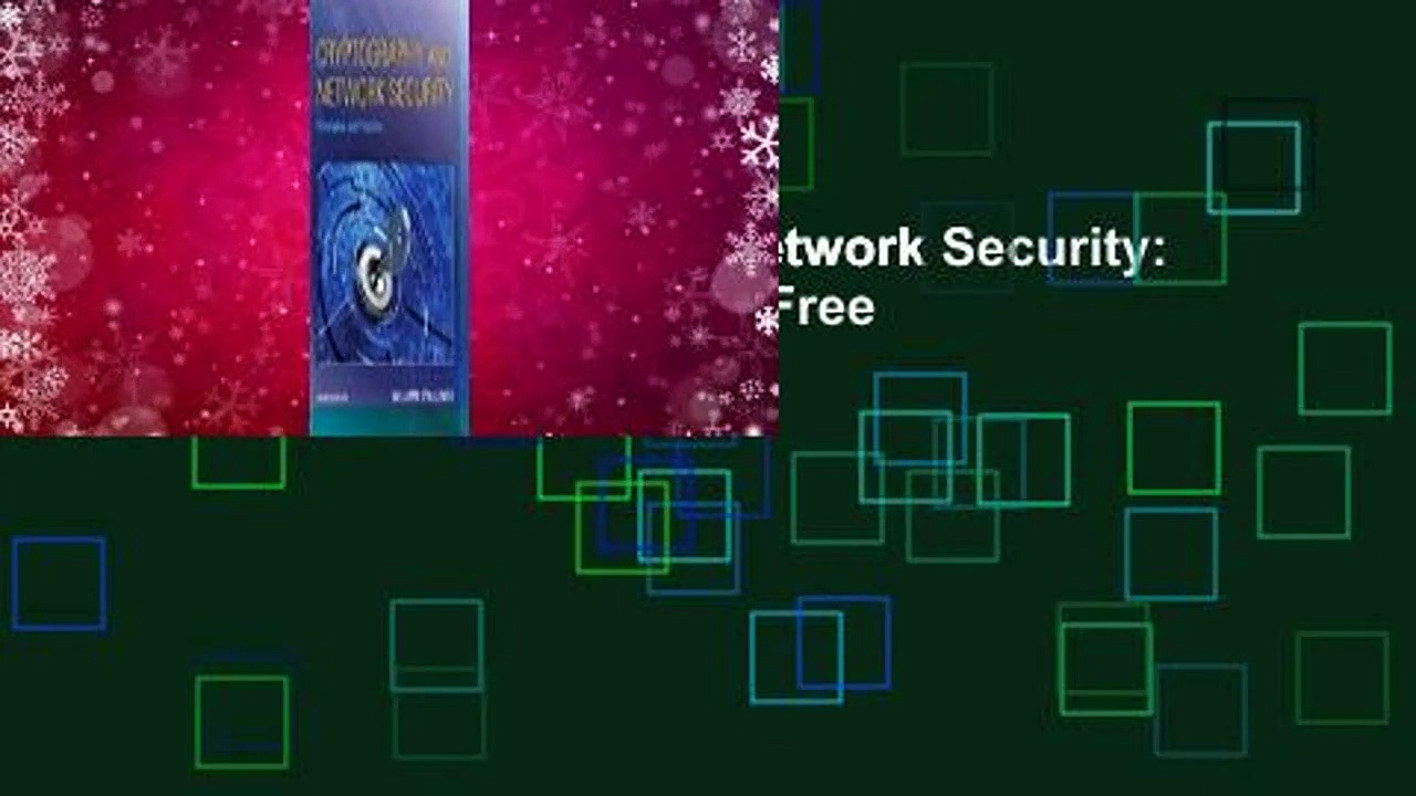 [Read] Cryptography and Network Security: Principles and Practice  For Free