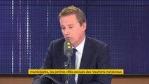 """Circulaire de Castaner pour les municipales :  une """"manipulation"""" pour Nicolas Dupont-Aignan, d'un gouvernement qui veut """"cacher les résultats"""""""