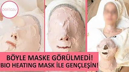 Sivilceleri 1 seansta azaltan maske: BIO HEATING MASK | Peri Tozu