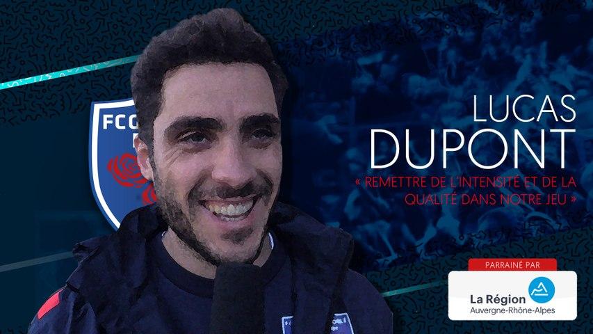 """Rugby : Video - Lucas Dupont """"remettre de l'intensité et de la qualité dans notre jeu"""""""
