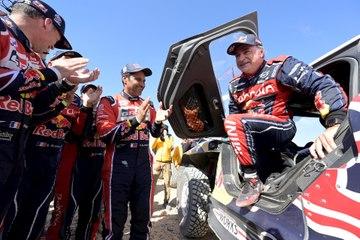 Nadie ha ganado el Dakar como lo ha hecho Carlos Sainz