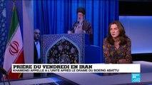 Analyse : Khamenei appelle à l'unité iranienne