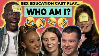 Digital Spy play 'WHO AM I?' with the Sex Education cast! Ncuti Gatwa, Asa Butterfield & Emma Mackey
