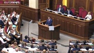 Primeiro-ministro da Ucrânia apresenta demissão