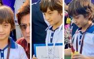 Shahrukh Khan's Son Abram Wins Gold, Silver And Bronze At School Race