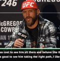 It's good to see McGregor on the right path - Cerrone