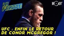 UFC : enfin le retour de Conor McGregor