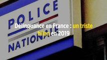 Délinquance en France : un triste bilan en 2019