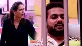 Bigg Boss 13: जेल जाने के बाद भी नहीं सुधरी Madhurima Tuli,फिर फेंका Vishal पर पानी | FilmiBeat