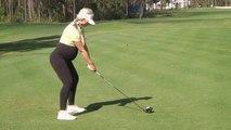 Enceinte de 6 mois, cette joueuse pro continue de jouer au golf