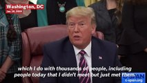 Trump Snaps At CNN Reporter To Be 'Quiet' After He Grills President About Lev Parnas