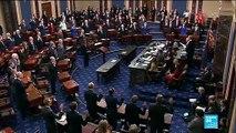Procès en destitution de Trump : Les sénateurs prêtent serment devant le président de la cour suprême