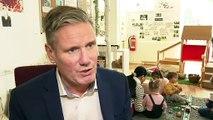 Keir Starmer visits Batley nursery