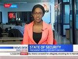 Uhuru applauds security agencies in Kenya
