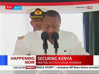 Shock as Uhuru publicly scolds officials over security officers\' over field allowance