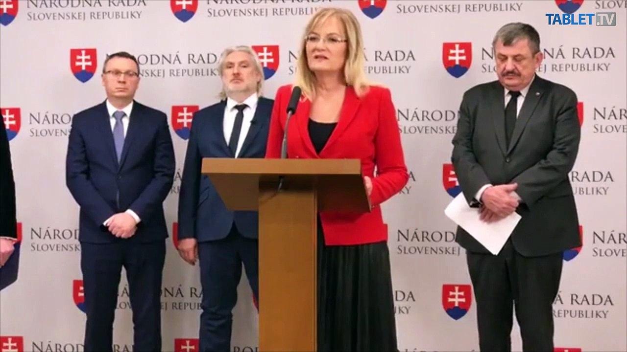 ZÁZNAM: TK Slovenskej národnej strany