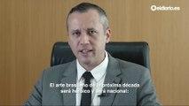El secretario de Cultura de Bolsonaro cita a Goebbles en un discurso