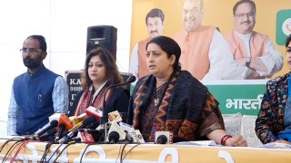 Smriti Irani blames AAP for delay in hanging Nirbhaya case convicts