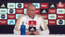 """Zidane: """"Lo siento por Valverde, pero ya sabemos dónde estamos los entrenadores"""""""