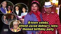 B-town celebs attend Javed Akhtar's retro themed birthday party