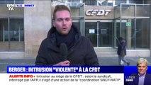 Que sait-on de l'intrusion au siège de la CFDT ce midi ?